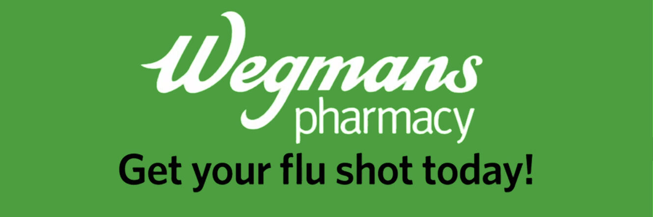 Wegmans flu clinic slider